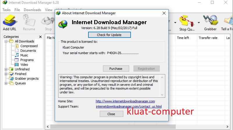 serial number internet  manager 6.28 build 6