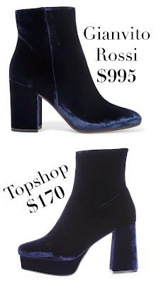 gianvito rossi ankle boots_designer lookalike shoes_hooch velvet platform boots_topshop shoes