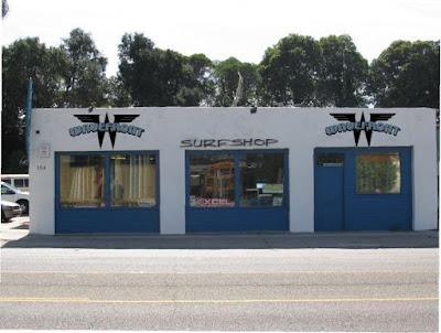 Wave Front Surf Shop Exterior