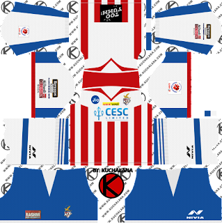 ATK Kolkata 2018 Kit - Dream League Soccer Kits