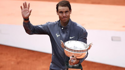 Rafael Nadal Beats Dominic Thiem won 12th French Open title