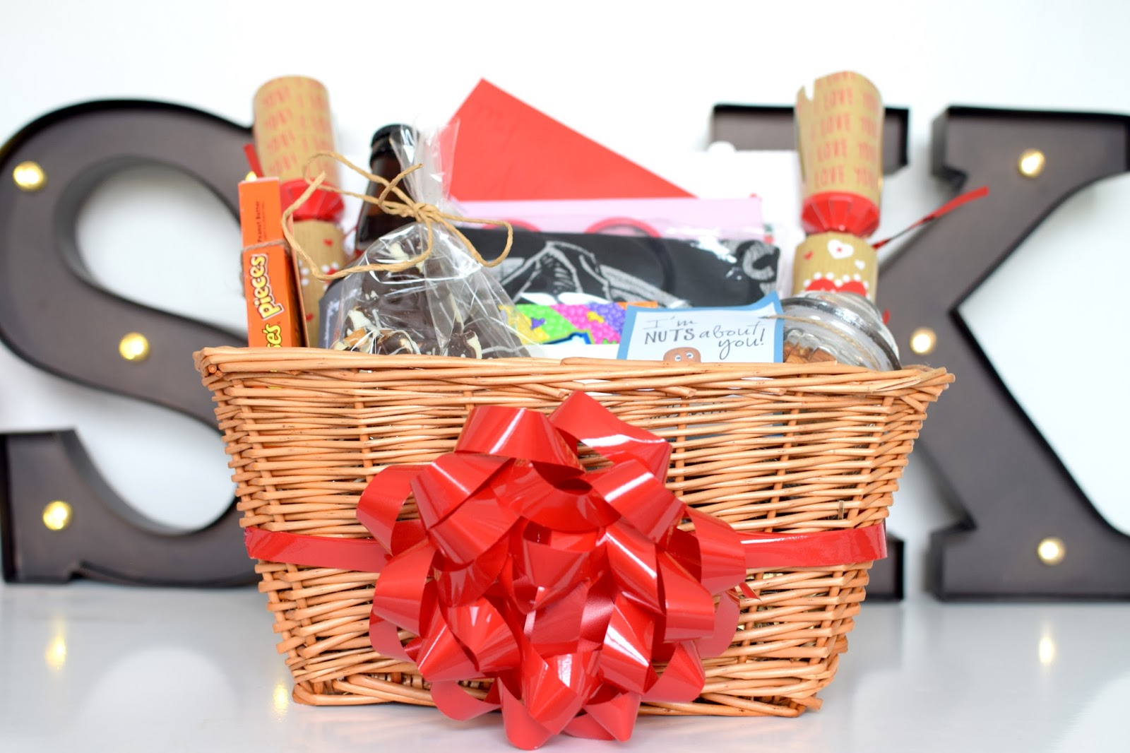 Valentine S Day Homemade Gift Hamper Ideas Blonde Ambition