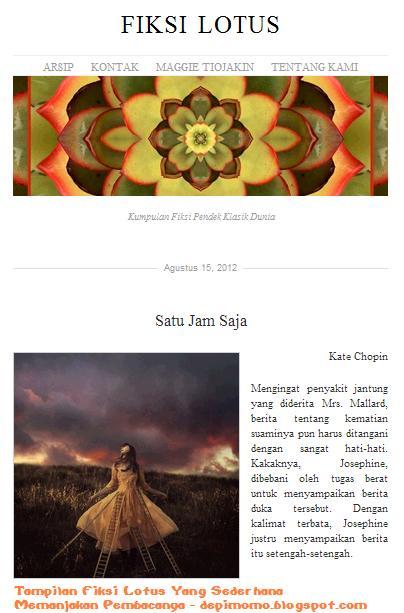 Celoteh Si Devi Fiksi Lotus Kumcer Klasik Online