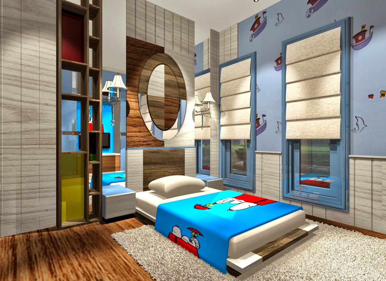 Model Desain Interior Kamar Tidur Yang Nyaman | Rumah ...
