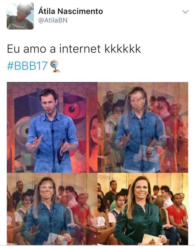 Imagens zuando o BBB17
