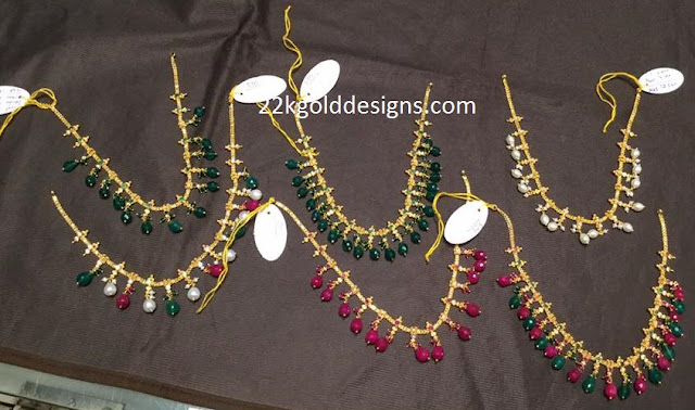 Light Weight Short Length Beads Necklace Designs