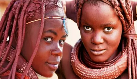 African tribe girls picture