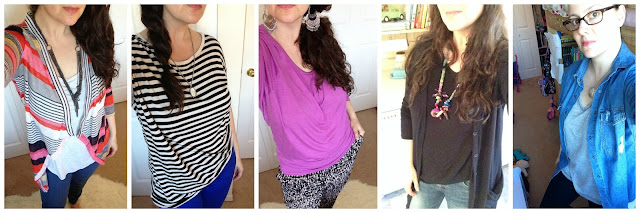 fashion, stripes, purple, diy kids necklace, glasses, mother of pearl pendant