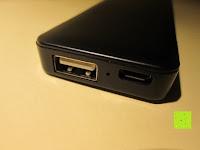 Buchsen: Swees® 3200mAh Ultra-kompakt Externer Akku Smart-USB (Smartport für maximale Ladegeschwindigkeit) Powerbank Power Bank Ladegerät Powerpack Zusatzakku für iPhone 6 Plus 5S 5C 5, Samsung Galaxy S3 S4 S5 S6, Note 3 4, Tab 4 3 2 Pro, Nexus, HTC One, One 2 (M8), LG G3 und andere Smartphones MP3 MP4 Player - Schwarz