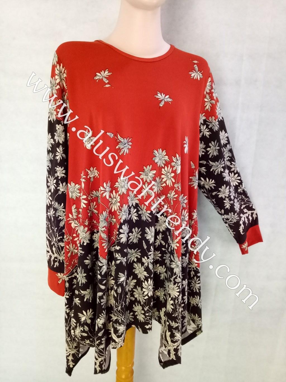 Blus Batik 022 Kaos