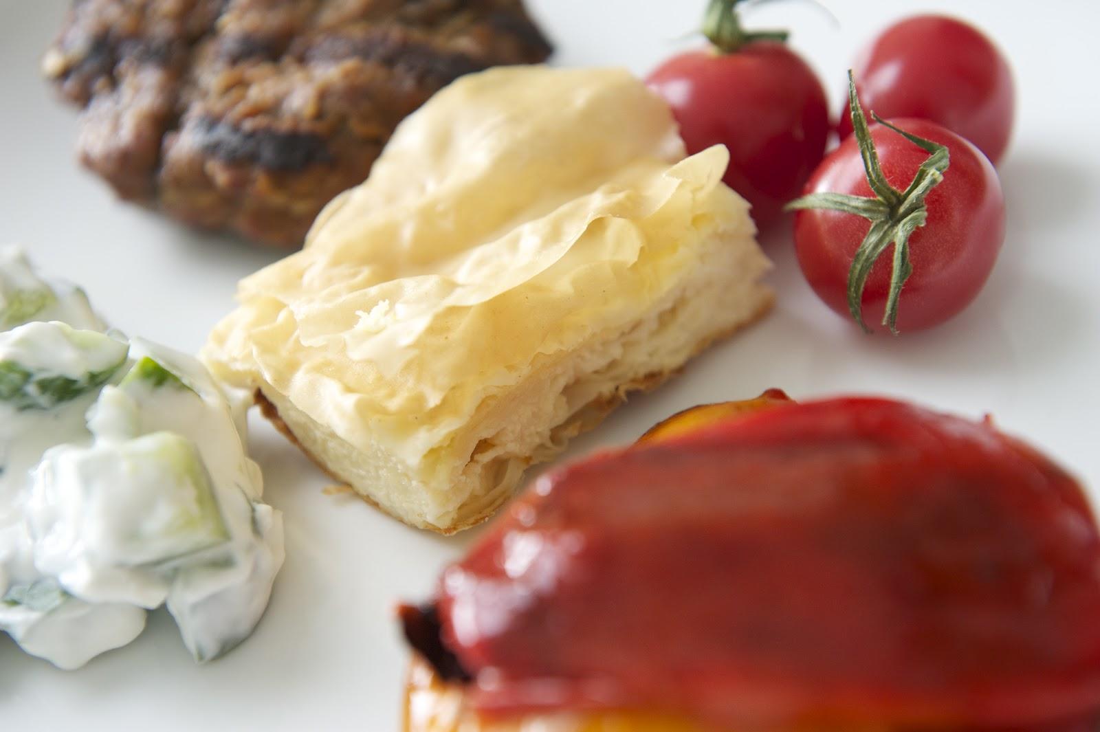 CAKE ON THE BRAIN: PLJESKAVICA (GF) AND GIBANICA (CROATIAN MEAT