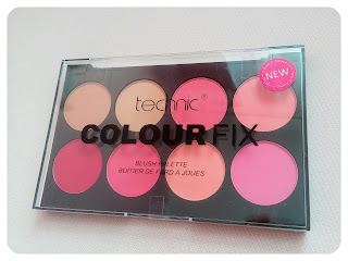 TECHNIC colour fix blush palette