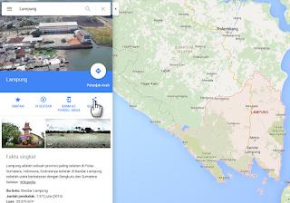 cara menampilkan google maps diblog - blog