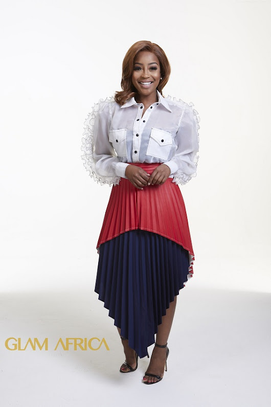 Glam Africa Magazine's Features South African Chef and TV Personality- Lorna Maseko
