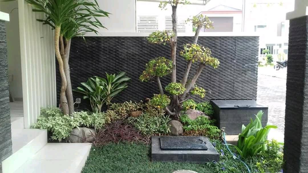Membuat Taman Minimalis Depan Rumah Tukang Taman Surabaya