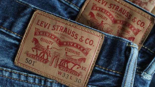 Levi Strauss back as public company, shares soar 30 percent