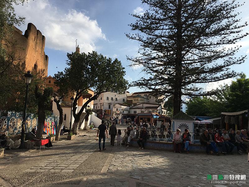 北非摩洛哥冒險記第3天:超好拍網美拍照聖地 藍色的城市-紗富彎(Chefchaouen)