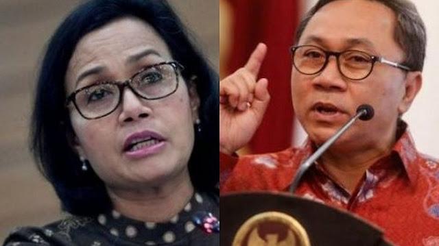 Diserang Balik Zulkifli Soal Data Utang, Sri Mulyani Kok Diam?