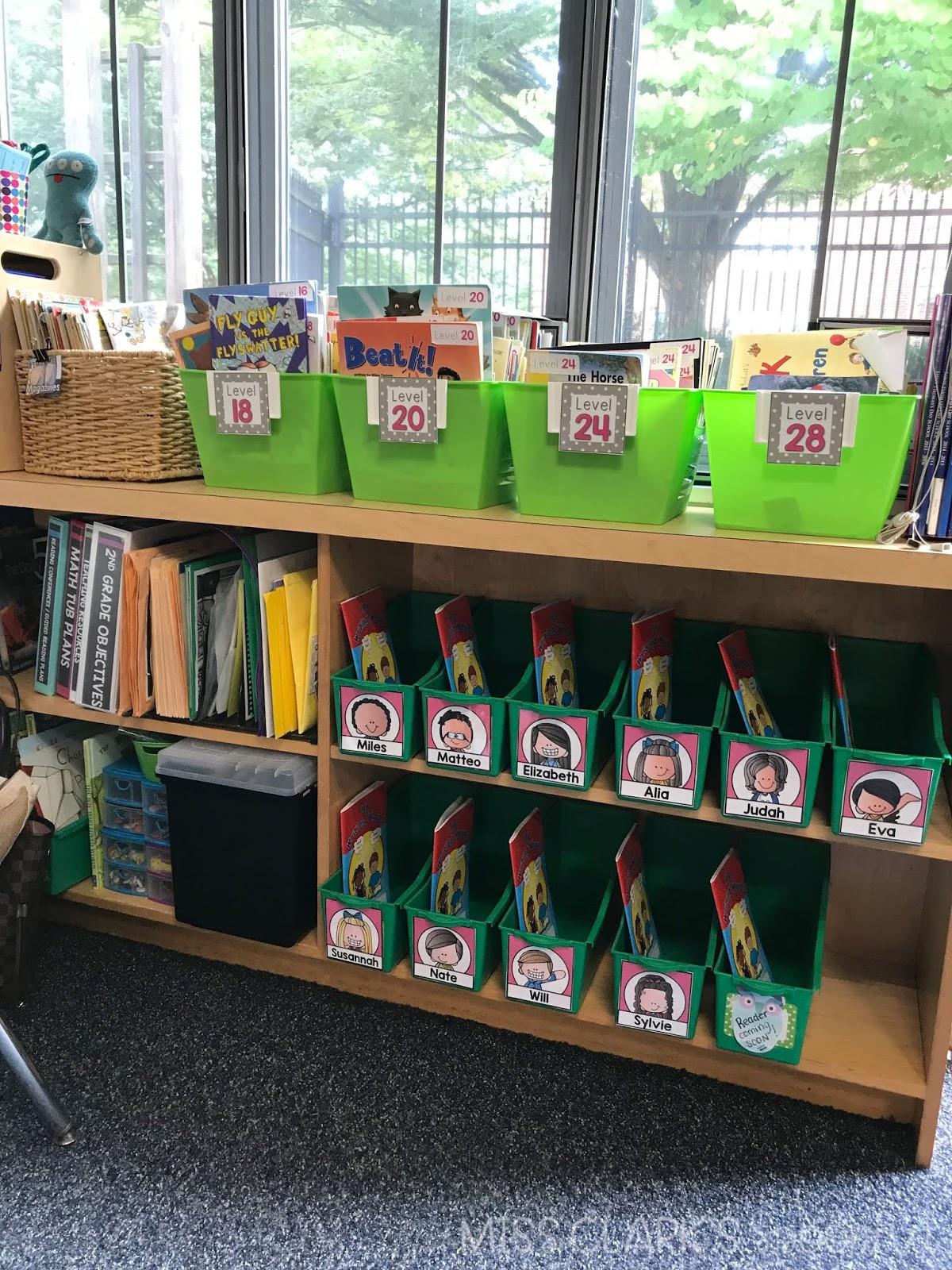 classroom book boxes