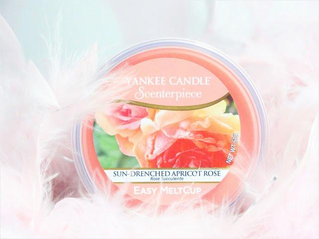 Avis Sun-Drenched Apricot Rose de Yankee Candle, blog bougie, blog beaute, blog parfum