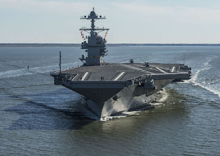 Kapal Induk USS Gerald R. Ford