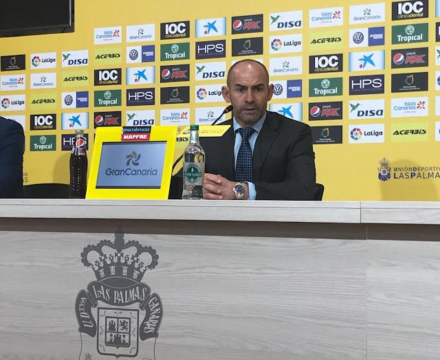 Rueda de prensa de Paco Jémez