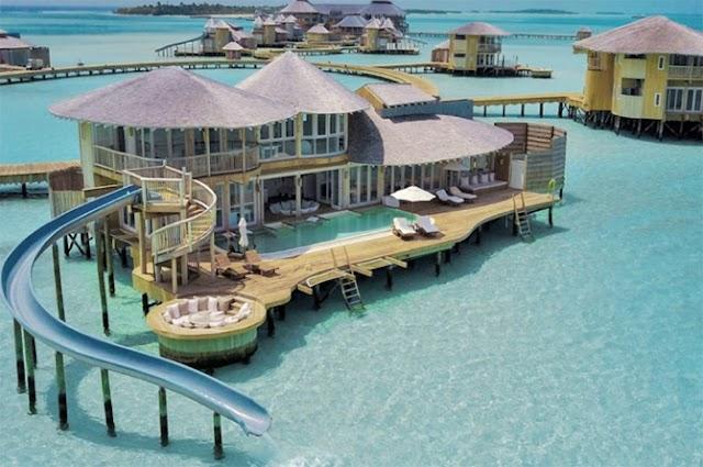 Percutian ke Maldives, Bermalam di Villa Mewah