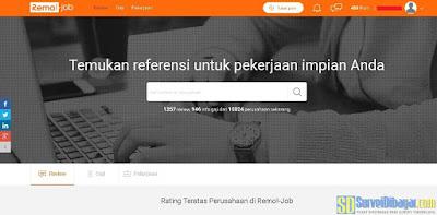 Situs referensi kerja RemoJob | SurveiDibayar.com