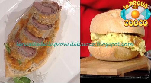 Involtino alla romana ricetta Bonci e Fava da Prova del Cuoco