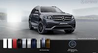 Mercedes AMG GLS 63 4MATIC 2019 màu Xám Tenorite 755
