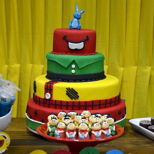 festa-de-aniversario-infantil-com-o-tema-da-turma-da-monica-bolo