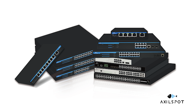 AXILSPOT Unveils New Series of Managed and Unmanaged Switches