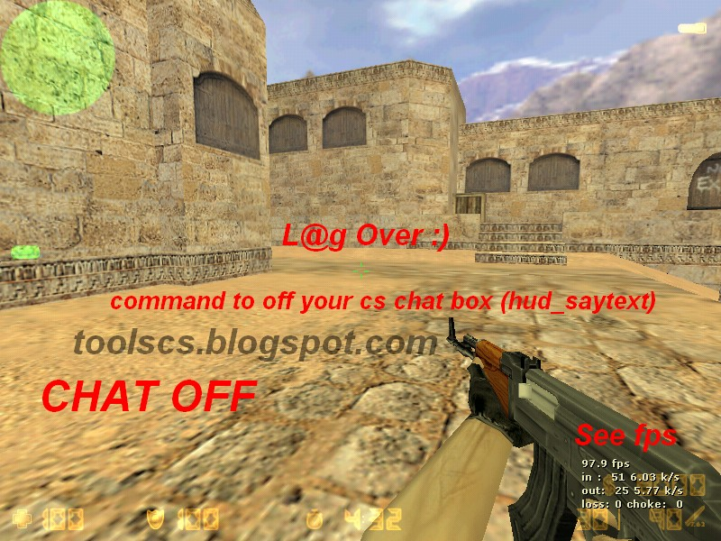 Chat Off Increases Counter Strike Fps Hudsaytext Simple