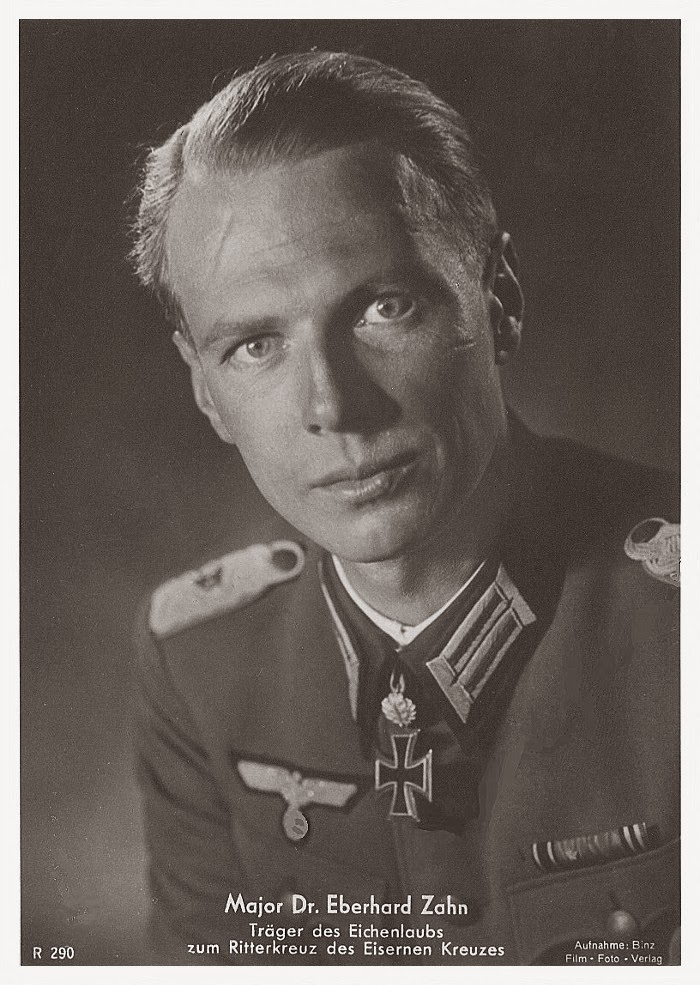 Eberhard Zahn Ritterkreuzträger Knight Cross Holder Postcard