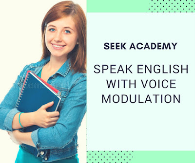 Speaking English with Voice Modulation
