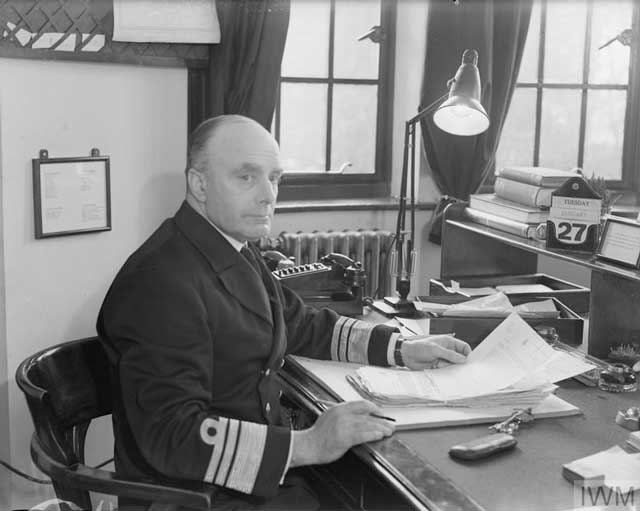Vice Admiral Sir C. Gordon Ramsey, 27 January 1942 worldwartwo.filminspector.com