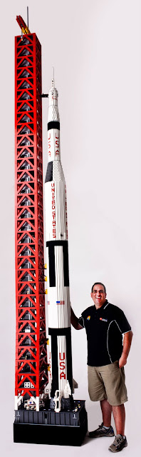 LEGO Saturn V Rakete