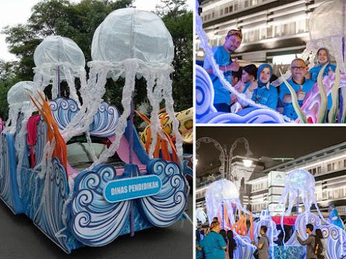 Mobil Ubur-ubur Disdik Kota Bandung di BLF 2017