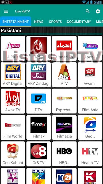 Live NetTV v3.1.2 - Apk - Ad Free - Assita Tv Online de Vários Paises