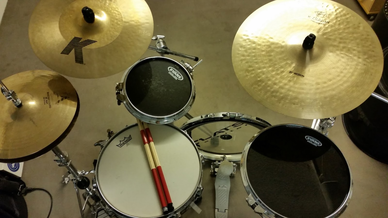 Ernesto Richioso - Drums & Percussion: Learning Drums