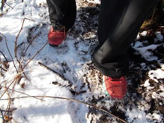 espadrilles Mizuno randonnée trail neige