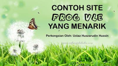 Contoh Site Frog VLE yang Menarik
