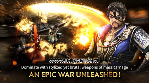 Download Dynasty Warriors Unleashed Apk v0.3.67.26 English Android Terbaru 2017
