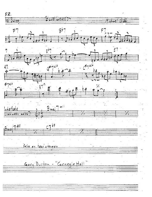 Partitura Trompeta Michael Gibbs
