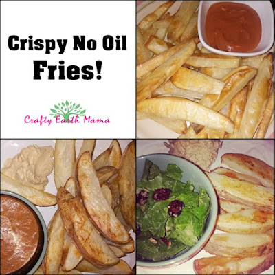 crispy no oil fries