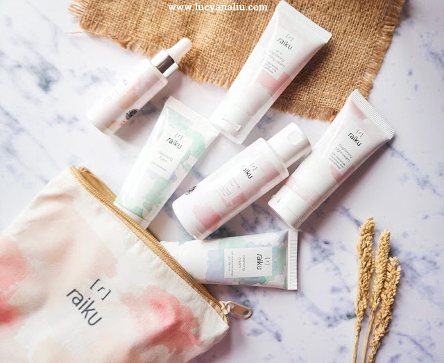 Raiku Cleansing & Brightening Series