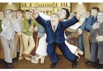BERYL COOK OBE (1926-2008)Knockout :: Hermitage Fine Art