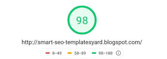 Smartseo Responsive Personal Blog Viral Niche Trending Blogger Template Theme