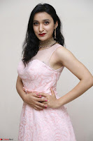 Sakshi Kakkar in beautiful light pink gown at Idem Deyyam music launch ~ Celebrities Exclusive Galleries 032.JPG