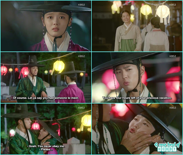 ra on meet crown prince at the lantern festival - Love in The Moonlight - Episode 5 Review